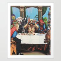 The Best Supper Art Print