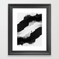 Framed Art Print featuring White Isolation by Stoian Hitrov - Sto