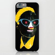 Smile in black iPhone 6 Slim Case