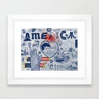 Thanks America / Where F… Framed Art Print
