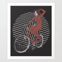 The Devil Will Ride Art Print