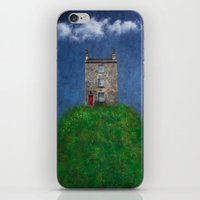 House On A Hill iPhone & iPod Skin