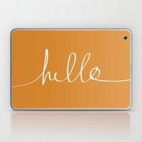 Hello, Pumpkin Laptop & iPad Skin