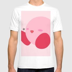 Kirby(Smash) Mens Fitted Tee White SMALL