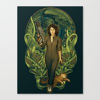 Come On, Cat Canvas Print