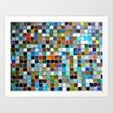 square, square, square Art Print