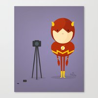 My camera hero! Canvas Print