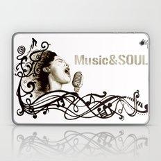 Music&Soul Laptop & iPad Skin