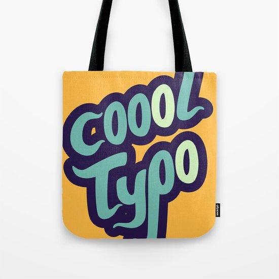 Coool Typo Tote Bag