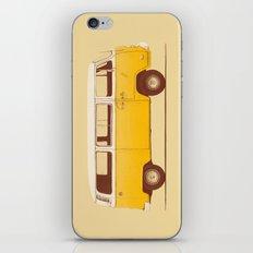 Yellow Van iPhone & iPod Skin