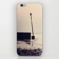 Golden Shoreline iPhone & iPod Skin