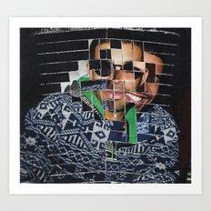 Sweater Man Art Print