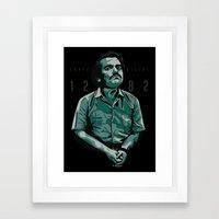 Pablo The Narco Framed Art Print