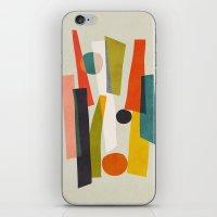Sticks and Stones iPhone & iPod Skin