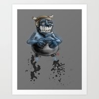 Possibly A Tricky Warrio… Art Print