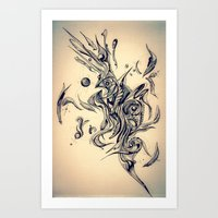 Pleasant Rhythm Art Print