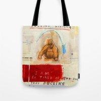 Gratuitous Simian Profan… Tote Bag