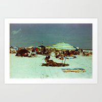 Beach, Wildwood, New Jer… Art Print