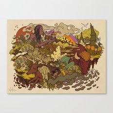 Smoke to ONEness Canvas Print