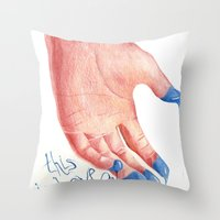 This Is LOVE Throw Pillow