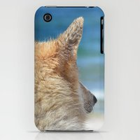 iPhone 3Gs & iPhone 3G Cases featuring Dog at the beach by UtArt