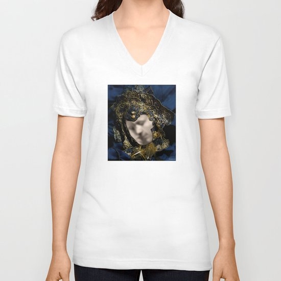 MASK OF LOVE (read the description to understand the trick) V-neck T-shirt