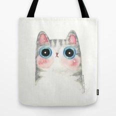 The Grey Cat Tote Bag