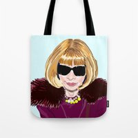 Anna Wintour Tote Bag