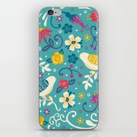 Garden Birds iPhone & iPod Skin