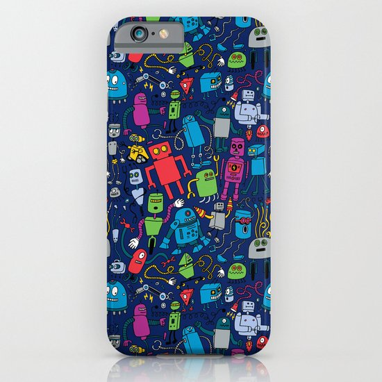 Robots Forever! iPhone & iPod Case