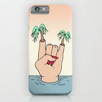 iPhone Cases featuring ROCK THE BEACH by Wesley Bird