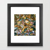 With Bird Biting Shirt S… Framed Art Print