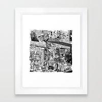 Star Whore Framed Art Print