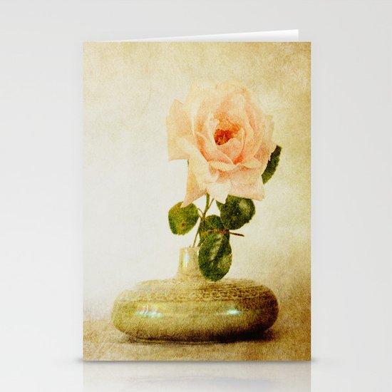 Vintage Rose  - JUSTART © Stationery Card