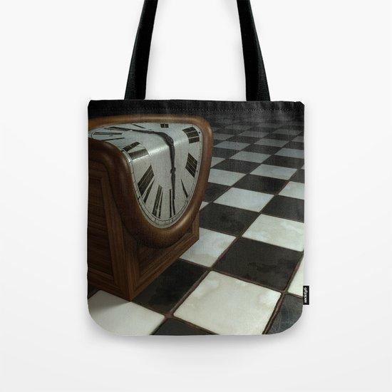 Melting Clock Tote Bag