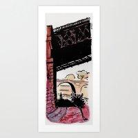 Due Ponti (two Bridges) Art Print