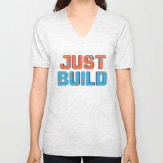 Just Build Unisex V-Neck