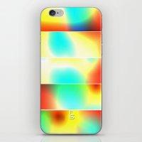 Color Heat (Five Panels … iPhone & iPod Skin
