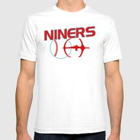 Niners Mens Fitted Tee White SMALL