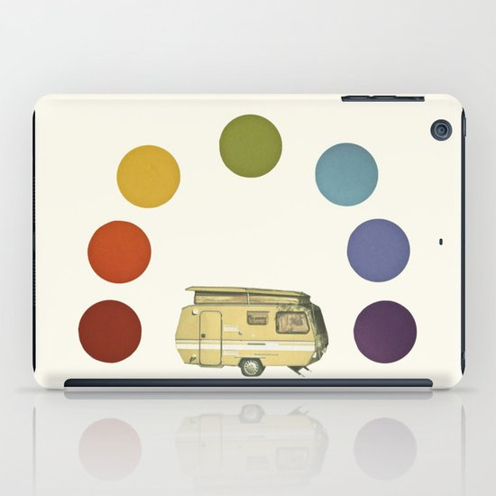We Camped Beneath a Rainbow iPad Case