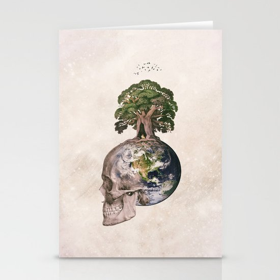 Life (Wandering Through Space) Stationery Card