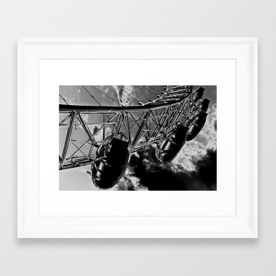 The London Eye Art Framed Art Print