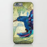 iPhone & iPod Case featuring Hummingbird by UvinArt
