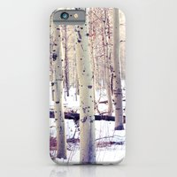 Aspen Trees in Winter iPhone 6 Slim Case