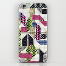 Ribbons with Patterns iPhone & iPod Skin