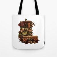 Burger I / Color Tote Bag
