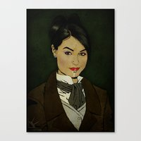 The Picture Of Sasha Gra… Canvas Print
