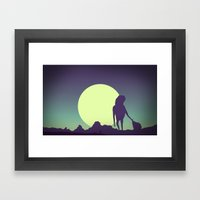 Honey-moon 2 Framed Art Print