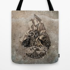 When nature strikes back  Tote Bag