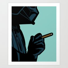 The secret life of heroes - DarkBreath Art Print